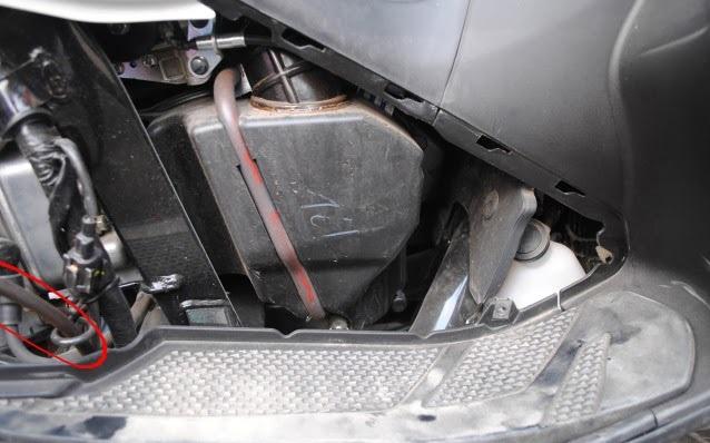 Thay nhớt motul cho xe nouvo sx 125cc - 14