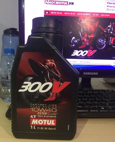Motul 300v 10w40 factory line 1l - 1