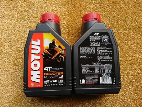 Motul scooter power le 5w40 1l - 1