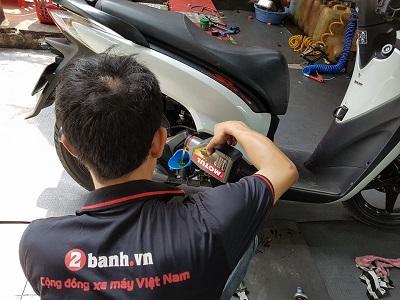 Kinh nghiệm xài nhớt Motul cho các đời Honda SH